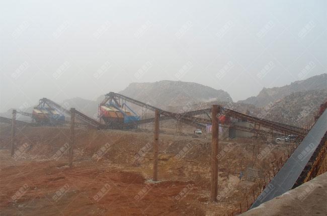 安徽淮北时产1300-1500吨石料生产线客户案例