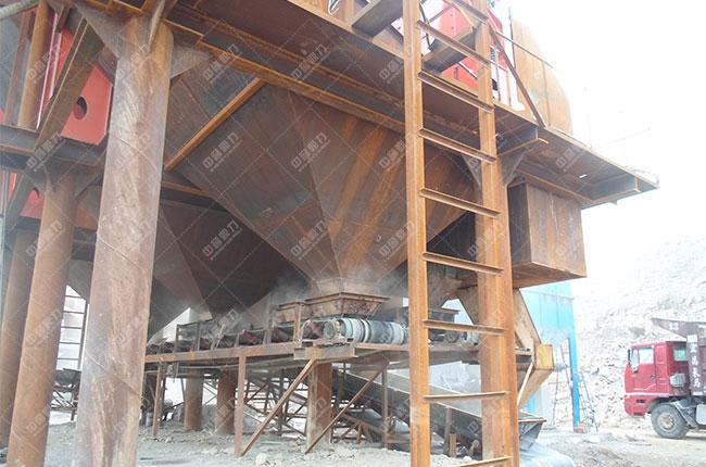 安徽淮北时产1300-1500吨石料生产线2