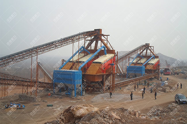 安徽淮北时产1300-1500吨石料生产线客户案例2