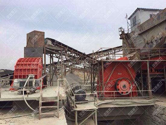 安徽淮北时产600-800吨石料生产线