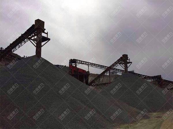 安徽淮北时产600-800吨石料生产线客户案例