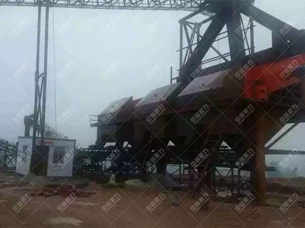 安徽滁州凤阳时产1200吨石料生产线客户案例2