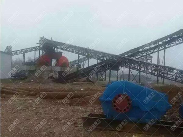安徽滁州凤阳时产1200吨石料生产线2