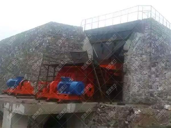安徽滁州凤阳时产1200吨石料生产线