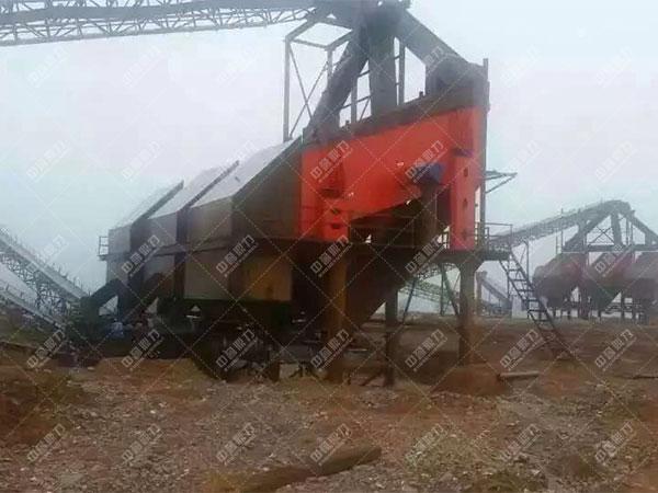 安徽滁州凤阳时产1200吨石料生产线客户案例3