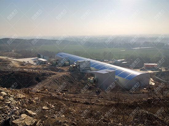 安徽雷鸣矿业萧县丁里镇瓦子口时产1300吨石料生产线